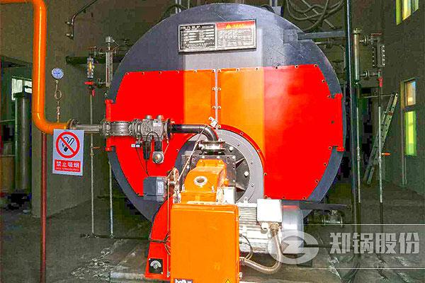 山东WNS6吨燃天然气锅炉项目
