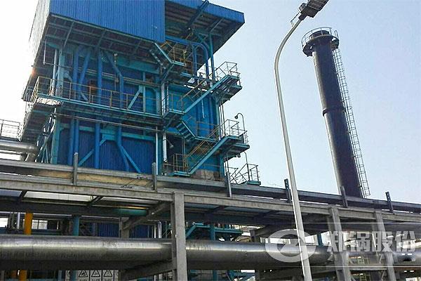 河南化工厂65t/h大型燃气电站锅炉项目