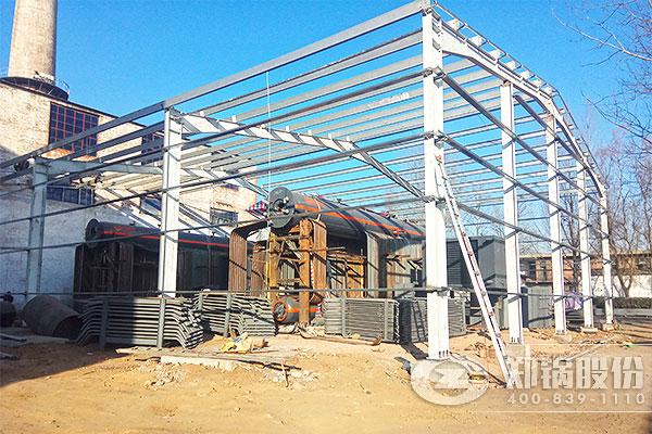 山西东方热力公司35吨燃气电站锅炉项目