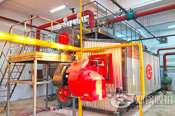 郑州学校10吨SZS超低氮燃气锅炉供暖项目