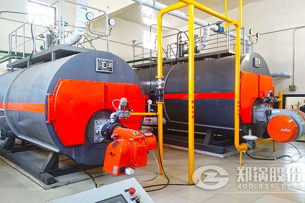 北京房山7MW(10吨)WNS燃气型锅炉项目
