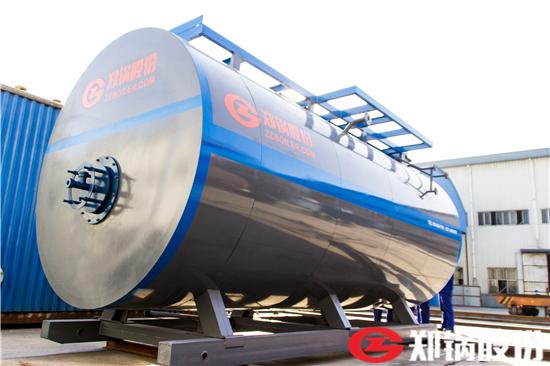 2吨低氮燃油锅炉